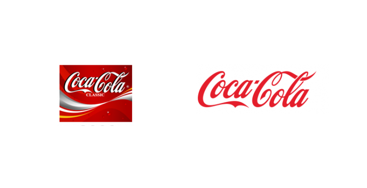 Coca Cola rebrand 2007