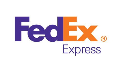 fedex logo using negative space