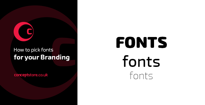 How to pick fonts for your Branding