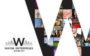 wayne enterprises branding