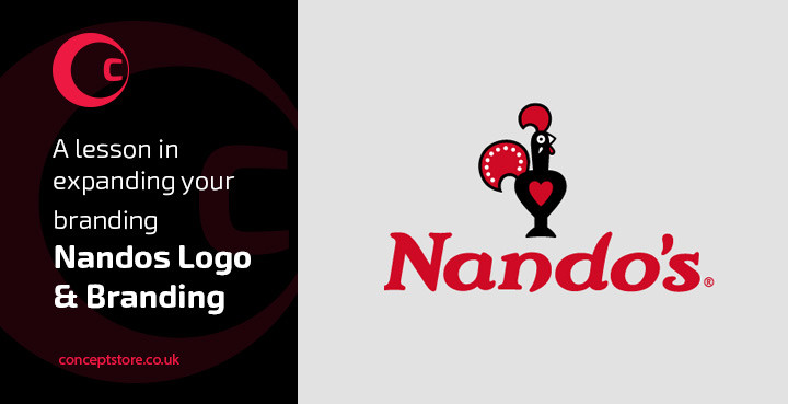 Nandos Logo & Branding | A lesson in expanding your branding