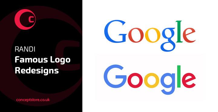 RANDI : Famous Logo Redesigns