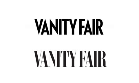 vanity Fair logo redesign