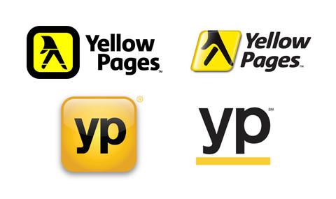 Yellow Pages logo Redesign