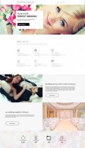 Our web design for Knoted Dreams that goes below the fold