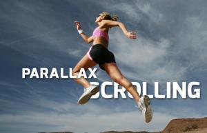 web design parrallax scrolling