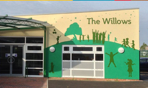 Willows Primary School Logo Design and Mural
