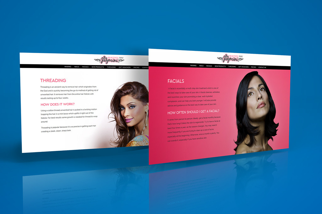 beautician websites