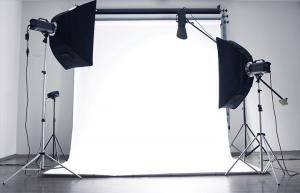 An example of a photography setup