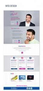 web design for a business coach