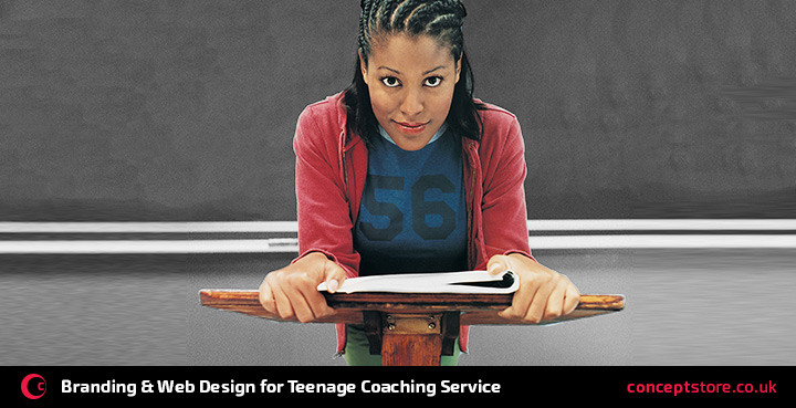 branding & web design for teenage coaching service