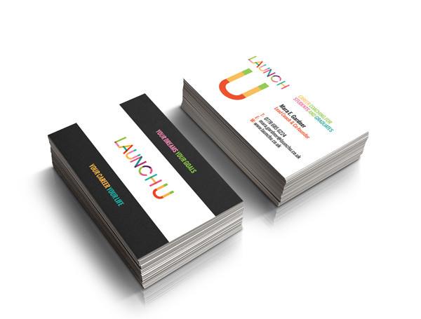 teenage coaching business card design