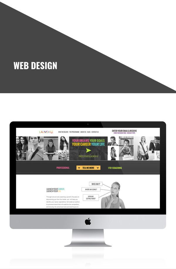 teenage coachingweb design