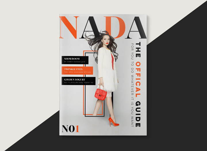 Fashion Magazine Layout Design Inspiration Randi 3