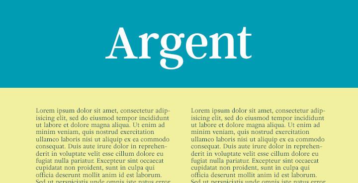 argent-serif-font