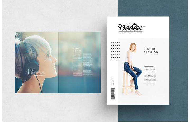 Fashion MAgazine Template