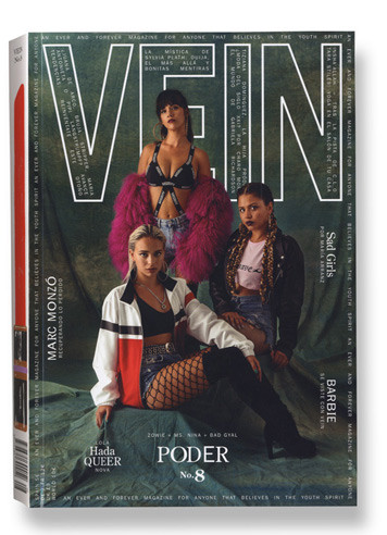 Vein Fashion Magazine Cover Design