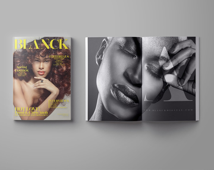 Fashion Magazine Graphic Design Inspiration