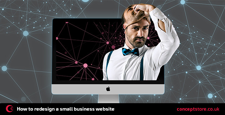 How to redesign a small business website
