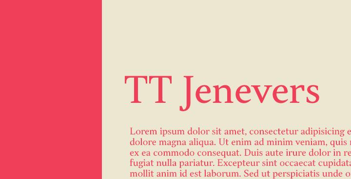 ttjenevers-serif-font