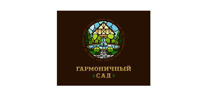 Stain Glass Logo Design