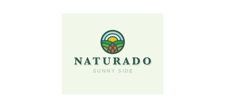 A beautiful scenic/stained glass logo that works superbly as afunctional logo design