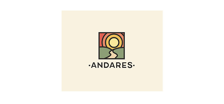 Elegant take on a stained glass logo design
