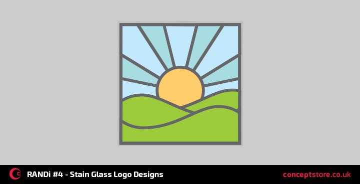 stain-glass-logo-designs