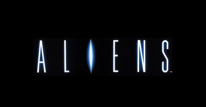 Aliens movie logo design