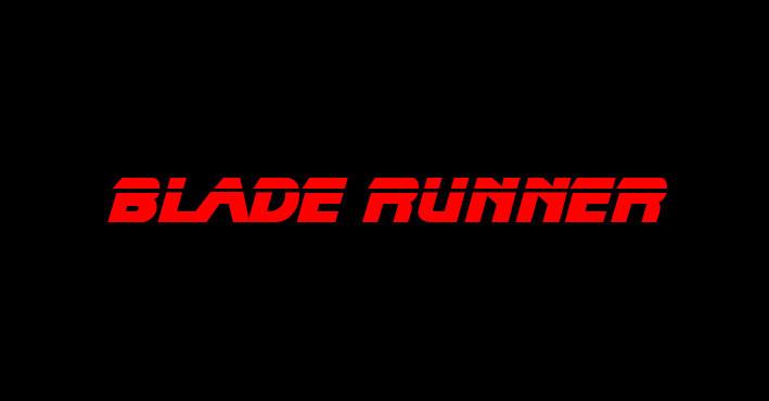 BladeRunner movie Logo