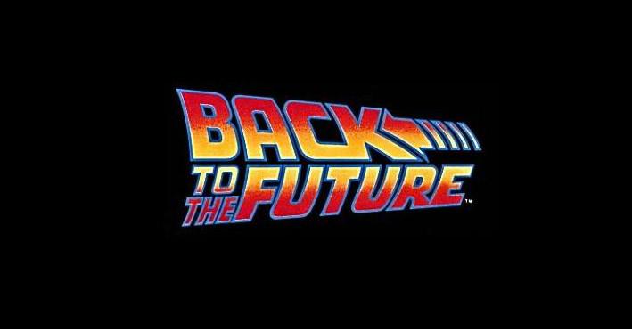 BAck to the future logo design