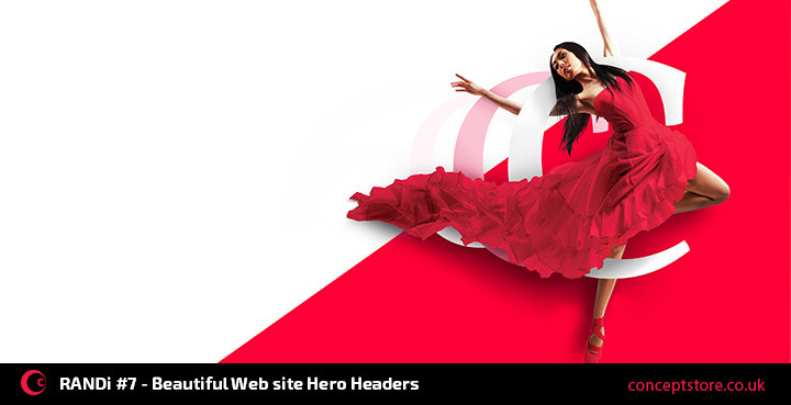 RANDi #7 – Beautiful Web Site Hero Headers
