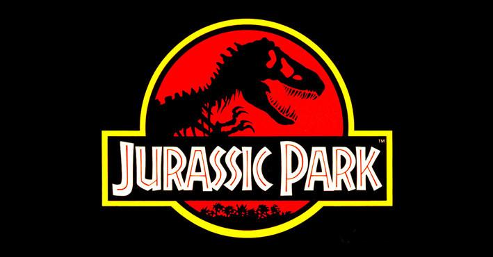 Jurassic park movie logo design