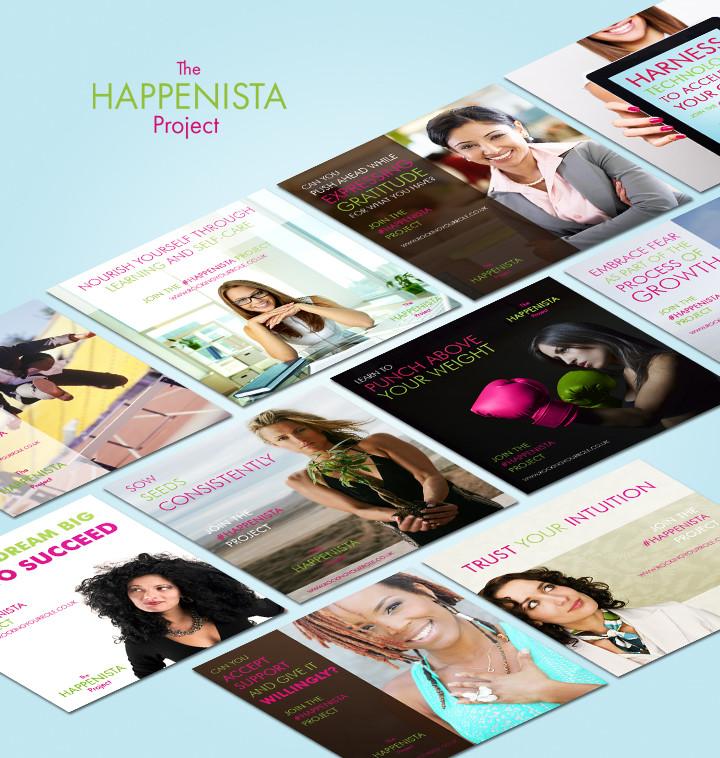 The Happensita Project - Branding, webdesign