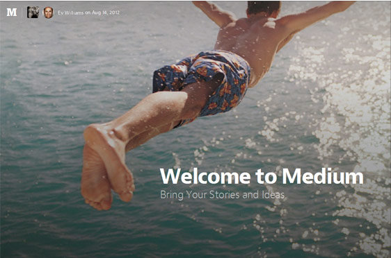 medium - content marketing tool