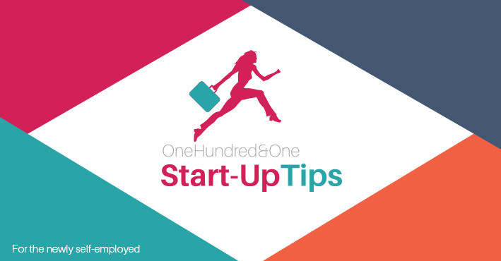101 Business Startup Tips – For the newly self-employed