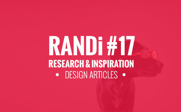 RANDi #17 – The Best Design Articles