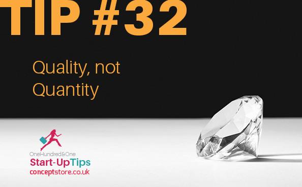 101 Start Up Tips #13