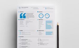 Creative CV by Tibor Brink