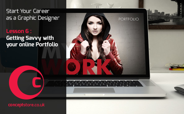 Getting Savvy with your online Graphic Design Portfolio