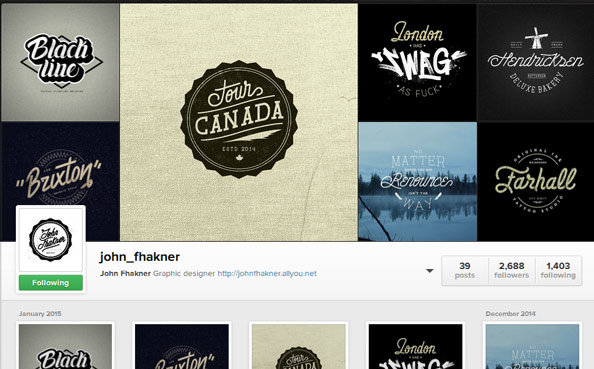 designers to follow on instagram