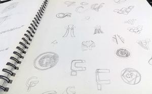 sketching-a-logo