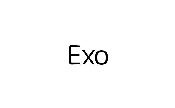 exo FONT