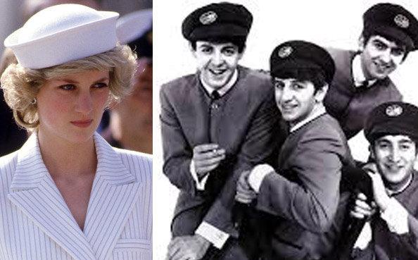 Diana & the Beatles wearing kangol