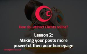 How to Attract Clients Online | Lesson 2