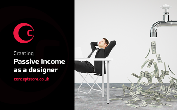 Creating Passive Income as a designer