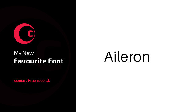 My New Favourite font