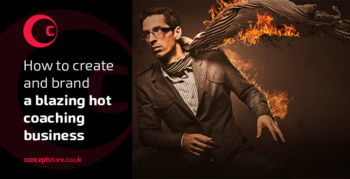How to create and brand a blazing hot coaching business