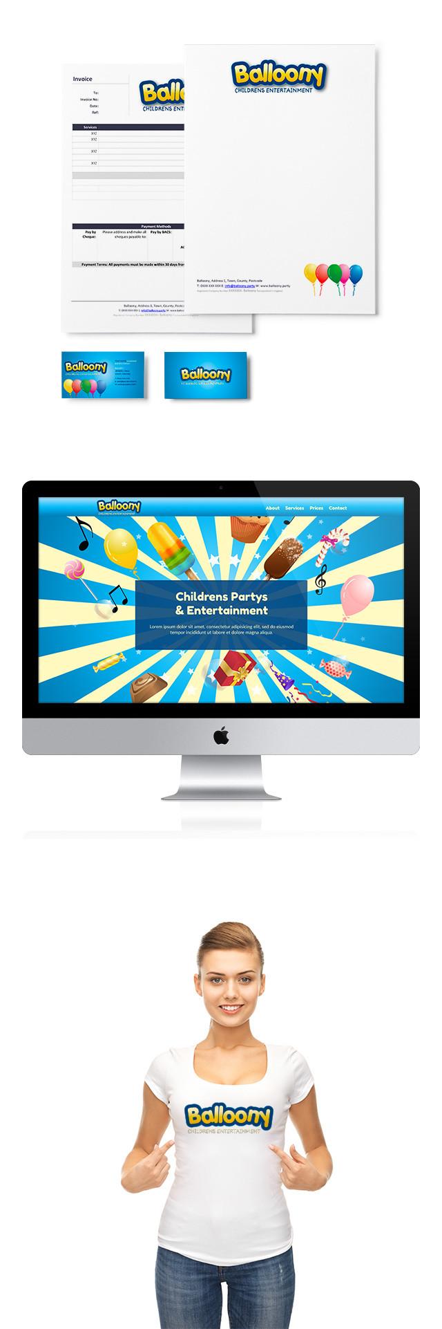 ballon childrens entertainment logo