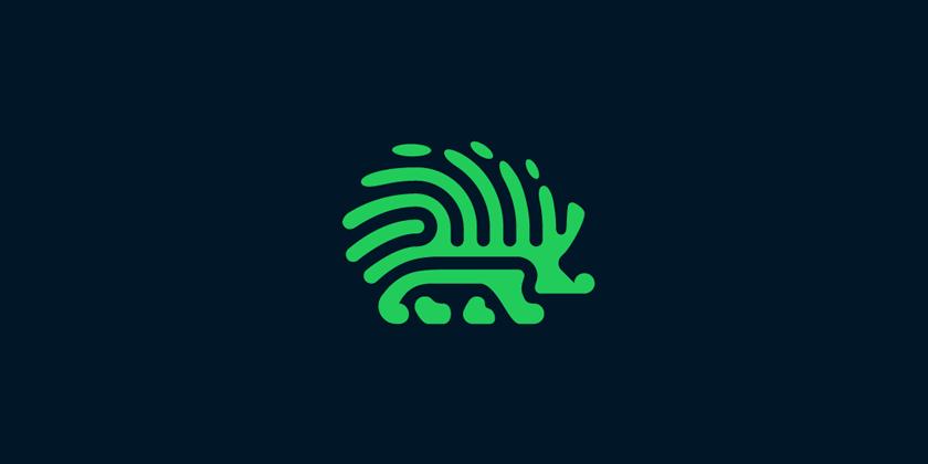 HedgeHog Logo Design